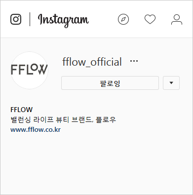 FFLOW Instagram