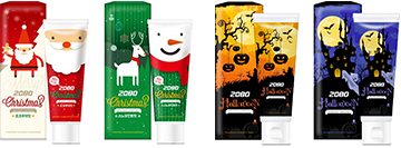 Launched 'Halloween' toothpaste