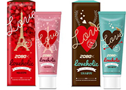 Launched 2080 'Holiday Loveholic' toothpaste
